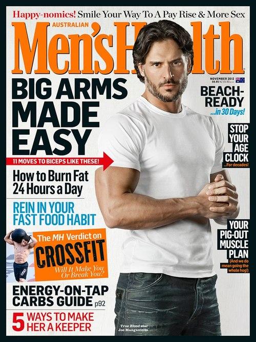 Joe Manganiello on the cover of Men's Health Australia