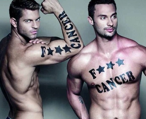 Jaymes Vaughan and James Davis of The Chippendales