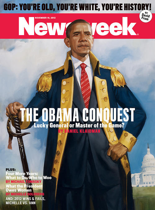 President Obama on the cover of Newsweek Magazine