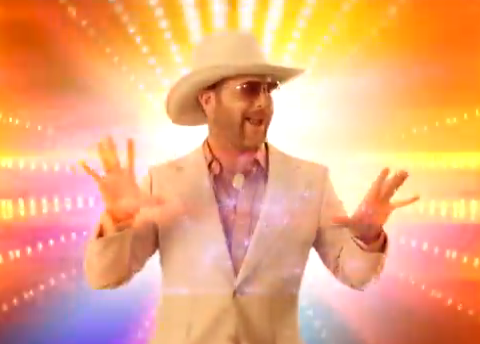 "Matt Alber in his music video for ""Tightrope"""