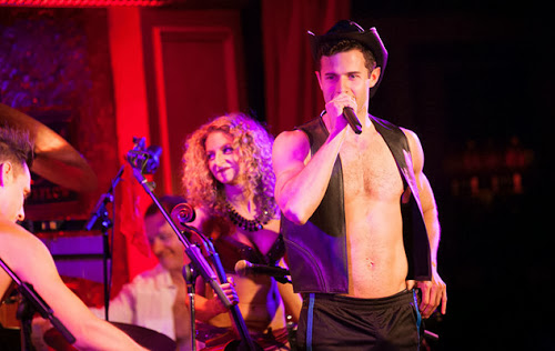 Roe Hartrampf performs with The Skivvies in what could be a sneak peek at Magic Mike on Broadway
