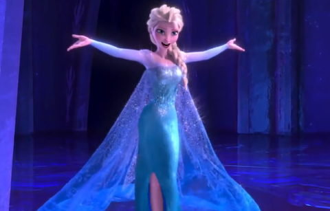"""Broadway star Idina Menzel sings """"Let It Go"""" in FROZEN"""