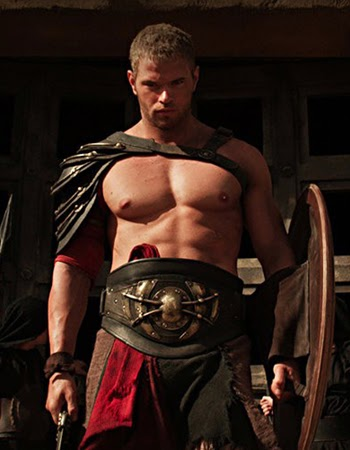 """Shirtless Kellan Lutz stars in the upcoming """"The Legend of Hercules"""""""