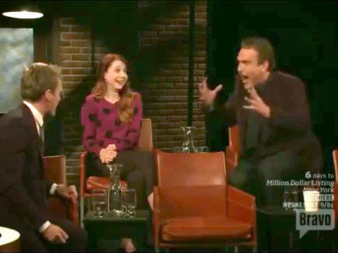 """Neil Patrick Harris and Jason Segel sing """"The Confrontation"""" from Les Miz on """"At The Actor's Studio"""""""