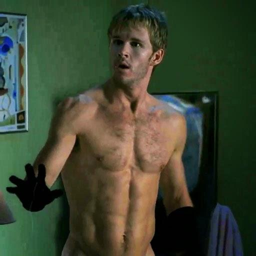 "Naked Ryan Kwanten as ""Jason Stackhouse"" in HBO's TRUE BLOOD"