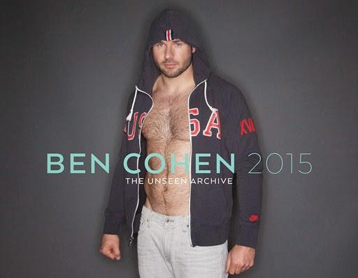 "Ben Cohen 2015 Calendar - ""Ben Cohen 2015: The Unseen Archive"""