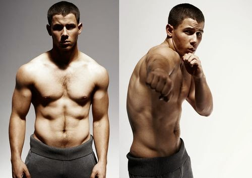 Shirtless Nick Jonas shares his tips on bulking up for his new TV role on KINGDOM