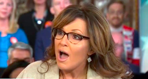 Sarah Palin explodes on The Today Show when asked about recent comments blaming President Obama for her son's domestic violence arrest