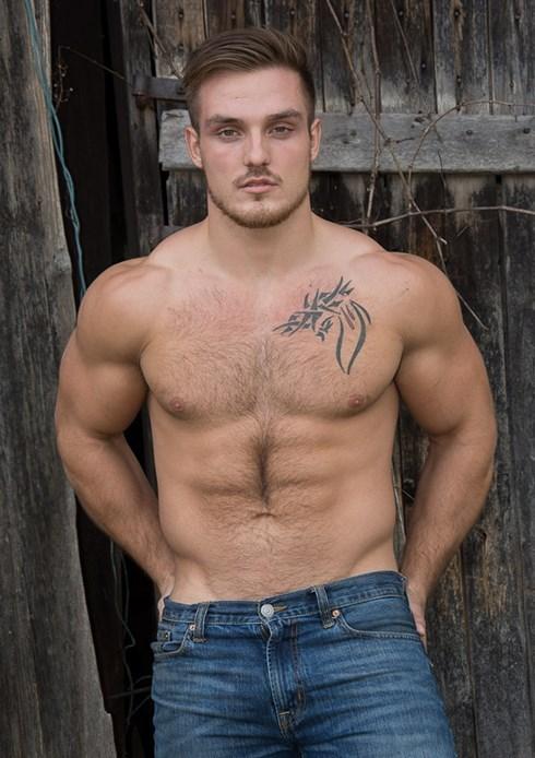 Shirtless Sam Tindal for DNA Magazine