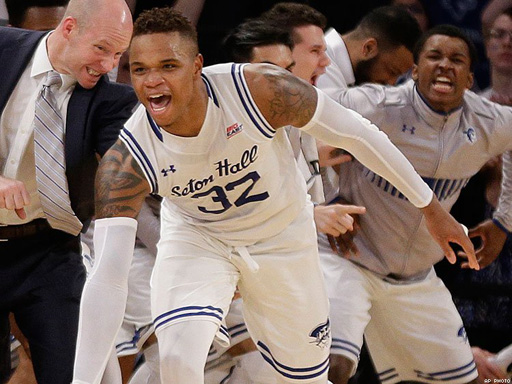 Derrick Gordon of Seton Hall is the first ever openly gay basketball player in NCAA tournament history