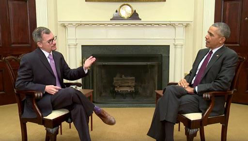 Out journalist Chris Geidner interviews President Obama