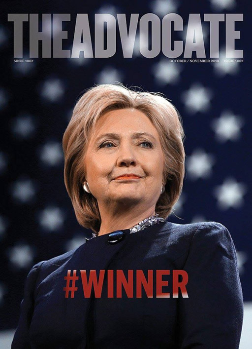 The Advocate endorses Hillary Clinton for president