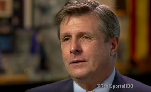 Golden State Warriors President and COO Rick Welts