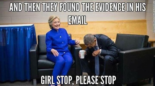 """""""And then they found the evidence in his email."""" """"Girl, stop, please stop..."""""""