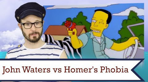 Smart guy Matt Baume explores homophobia via a 1997 episode of The Simpsons with guest star John Waters. Homer Simpson just couldn't seem to figure out why he didn't like Waters. Until he did...