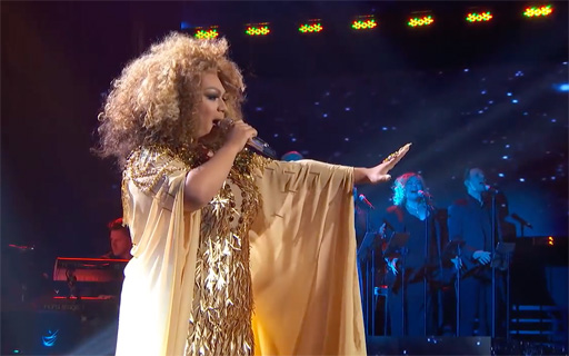 """Ada Vox, the drag persona of Adam Sanders, was eliminated on American Idol after singing a strong """"Circle of Life"""" from THE LION KING"""