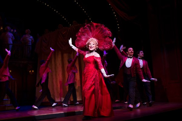 """Bette Midler in """"Hello, Dolly!"""" on Broadway"""