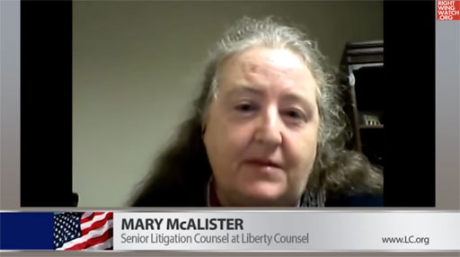 """Mary McAlister of the anti-gay Liberty Counsel says public sex education is """"satanic"""""""