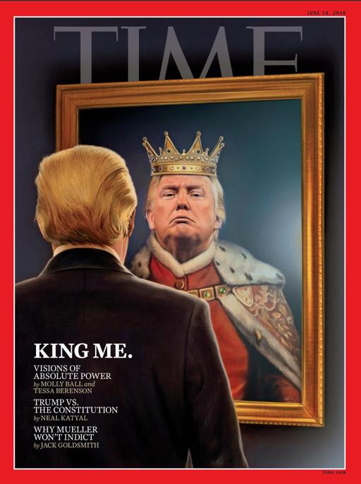Trump-as-a-king