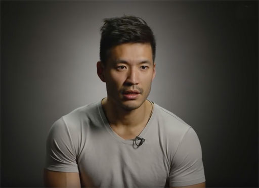 Model Kevin Kreider shares his experience of discrimination on dating apps because he's Asian