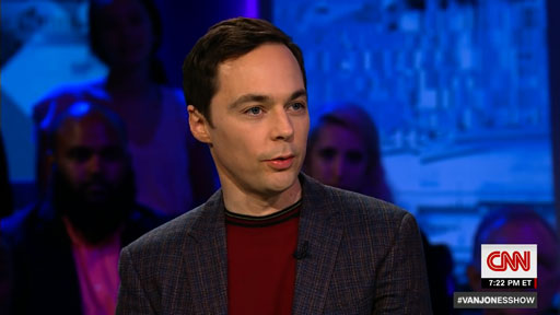 """Big Bang Theory star Jim Parsons on Roseanne's racist tweets - """"How? Why?"""""""