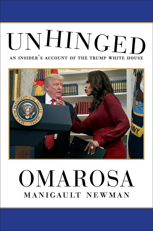 Reality TV celeb Omarosa has penned an explosive tell-all about her time in the Trump administration