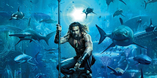 Jason Momoa stars as the king of the seven seas, Aquaman, in the upcoming super hero adventure film from Warner Brothers