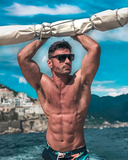 • One of my fave InstaHunks, Rodiney Santiago, is currently chronicling his journey through Italian islands where I was just two weeks ago! #MyTimingWasOff