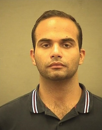 Former Trump campaign foreign policy consultant George Papadopoulos, who pleaded guilty to lying to the FBI a year ago about his activities with the campaign, was sentenced today to 14 days in prison.