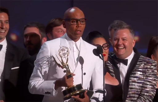 It was a great night for LGBT-themed entertainment last night at the 2018 Primetime Emmy Awards as RuPaul's Drag Race and the FX series The Assassination of Gianni Versace: American Crime Story took home top honors in their categories.