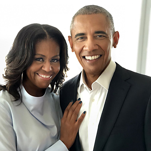 "Michelle and Barack Obama named ""Most Admired"" in America"