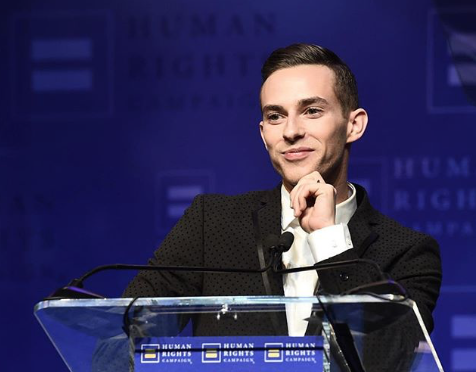 Out Olympian Adam Rippon says his New Year's resolution is to give off more BDE (big Dick Energy)