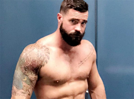 • InstaHunk Joe Blizzard is setting up some serious 'beard goals.' #Woof