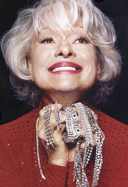 My dear Carol Channing passed away this morning at the age of 97.
