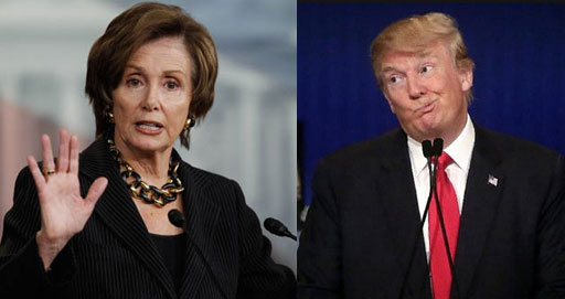 President Trump said late Wednesday that he would deliver his State of the Union address once the federal government reopens, capping a day of brinkmanship with Speaker Nancy Pelosi, who told the president that he was not welcome to deliver the speech in the House chamber while the government is partly closed.