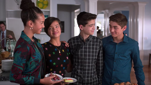 Joshua Ross, of Disney Channel's 'Andi Mack' shut down a Twitter troll for hating on a coming out story