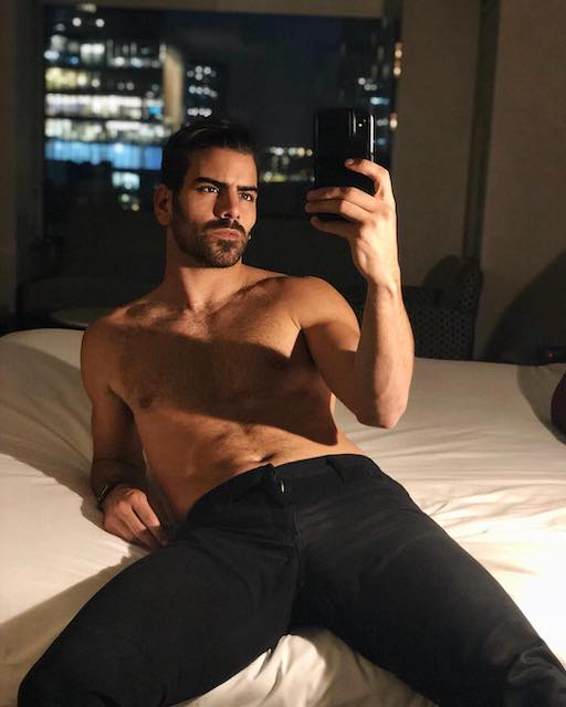 """• America's Next Top Model & Dancing with the Stars champ Nyle DiMarco is asking Instagram """"wyd (what you doing) on Valentines?"""" #MeMePickMe"""
