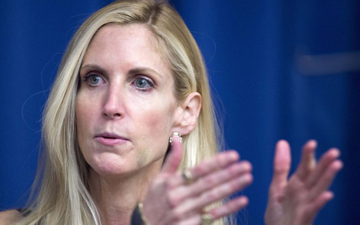 """The Palm Beach Post reports that during an event at the Kravis Center last night, conservative pundit Ann Coulter called Donald Trump """"a shallow, narcissistic con man."""""""