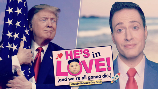 """Randy Rainbow offers up a 'wonderful' parody of Rodgers & Hammerstein's """"In Love With A Wonderful Guy"""" from South Pacific for Hump Day."""