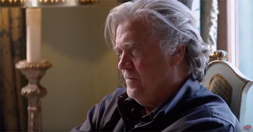 """After allowing filmmakers to follow him for a year, former White House adviser and Trump campaign chair Steve Bannon isn't happy about the resulting documentary, """"The Brink"""""""