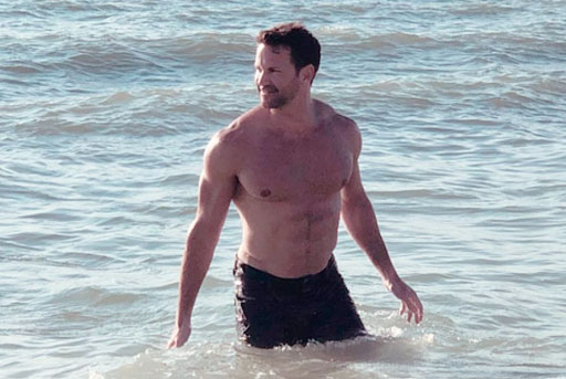 Totally-not-gay, former U.S. Rep. Aaron Schock received the best news he's heard in a long time today.