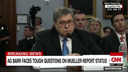 Testifying before the House Appropriations Committee on budget matters, Attorney General William P. Barr said he will be releasing a redacted version of the Mueller report within a week.