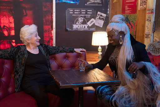 Olympia Dukakis and Bob the Drag Queen (courtesy photo)