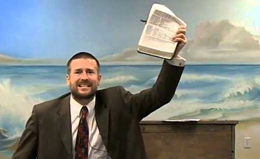 Infamous 'Kill the Gays' pastor Steven Anderson has become the first person to be banned from the country of Ireland.