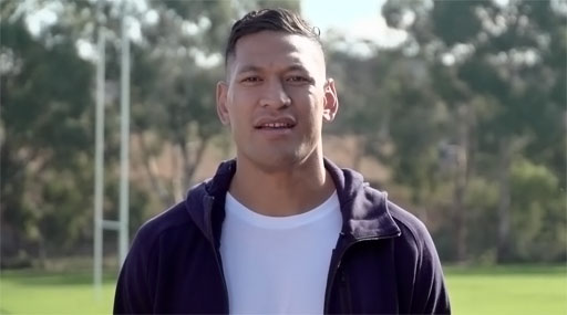 Israel Folau, the Australian homophobic rugby player who was canned after several anti-LGBTQ social media posts, is now asking his fans to pony up over $2 million to fund his continuing legal battles.