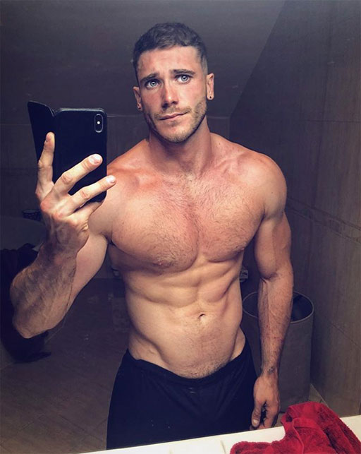 • My family came from then-Czechoslovakia, but clearly I didn't swim in the same gene pool as Czech InstaHunk Petr Hollesch (above). #dang #eyes #body