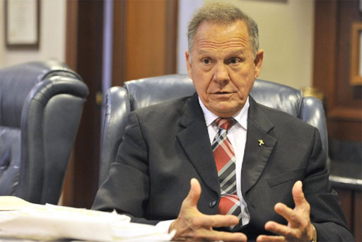 Former Alabama Supreme Court Chief Justice Roy Moore is back and running for U.S. Senate - again.