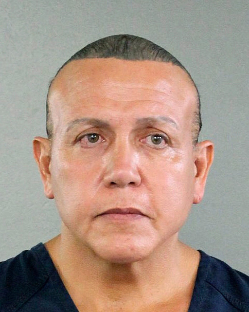 After pleading guilty to 65 felony counts regarding sending bomb-like devices to prominent Democrats, the 'MAGAbomber' - Cesar Sayoc Jr. - faces life in prison.