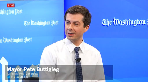 The New York Times reports Mayor Pete Buttigieg received $24.8 million in campaign donations over the past three months.