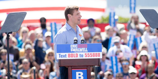 Rep. Eric Swalwell has announced he will end his three-month campaign for the Democratic presidential nomination.